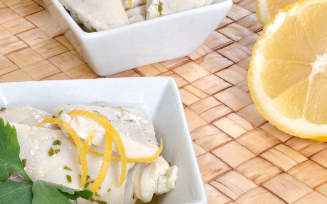Ricetta: Bocconcini di spada limone e zenzero